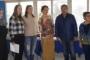 Комисията от федерацията бе посрещната от спортния експерт в Общината Даниел Даулов и от треньора Марийола Спасова.