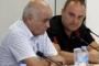 Зам.-кметът на Смядово Иван Кюркчиев /най-вдясно/ заяви, че стопани искат помощ за стадата си