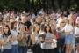 Ректорския жезъл докоснаха над 1100 първокурсници